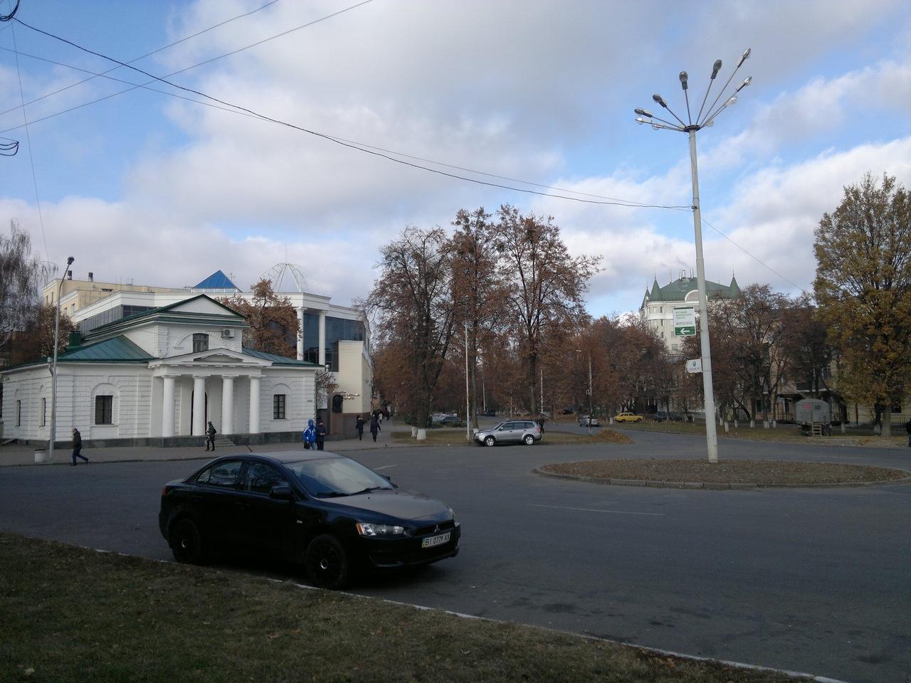 21.11.11 починається вулиця Шевченка та проспект Першотравневий