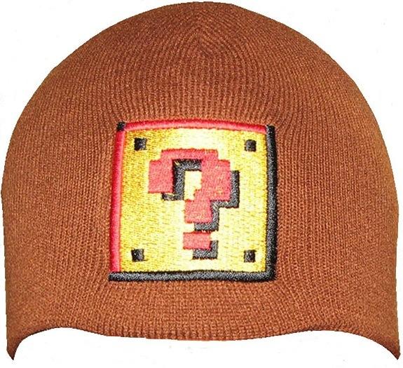 Недавно проскакивал пост о шапочке на основе игры Марио