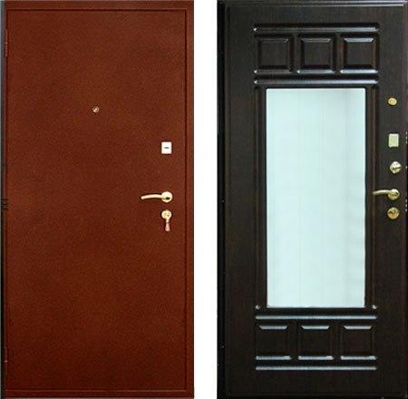 железная дверь установка в коломне