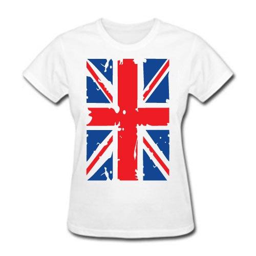 Купить футболку с британским флагом - интернет магазин.