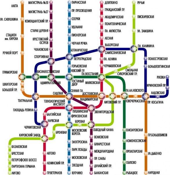 Когда схема метро будет близко