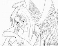 У Ангелов бывает только комплекс совершенства! ц) Дежурный ангел.