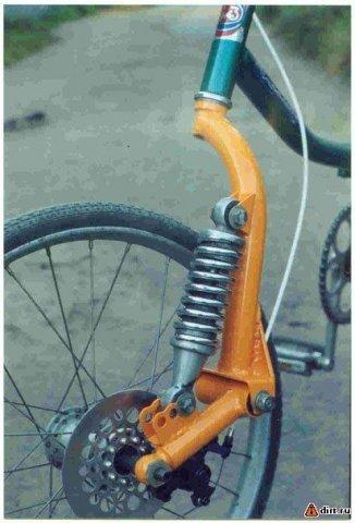 Самодельный амортизатор для велосипеда