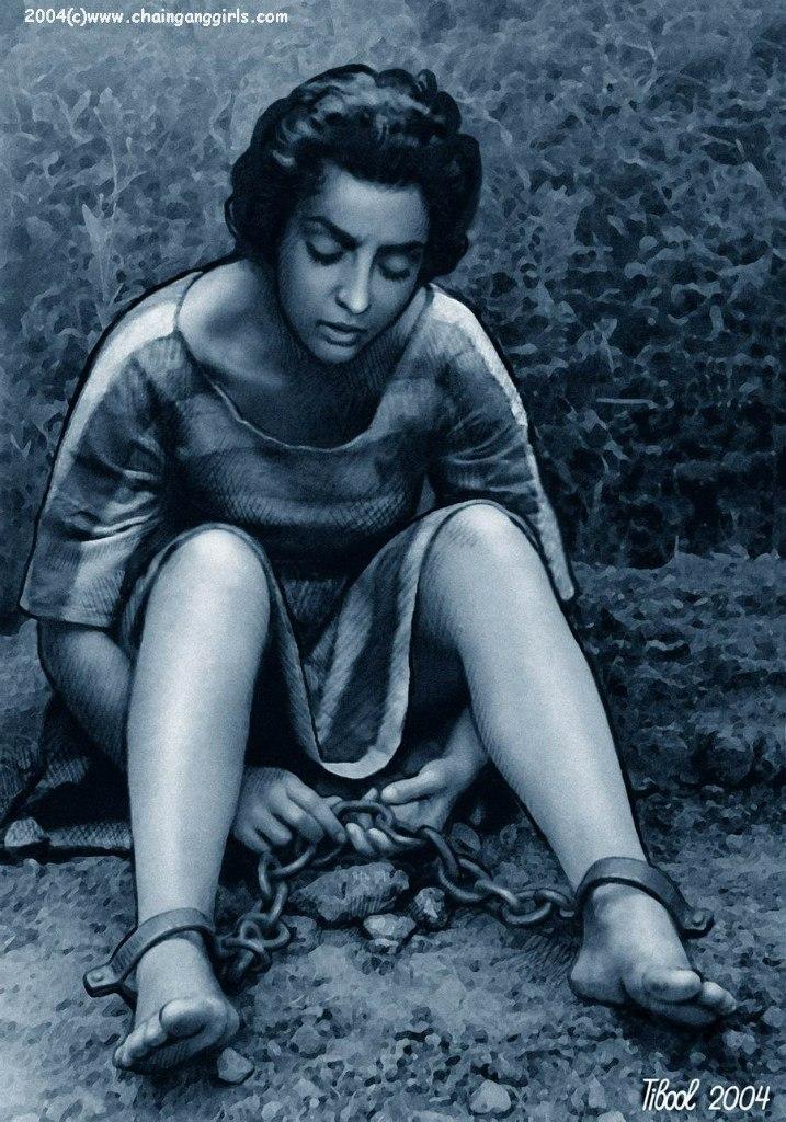 Фото рабыни закованные в цепи фото 247-807