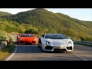 Watch the Lamborghini Aventador give hot Italian aural sex