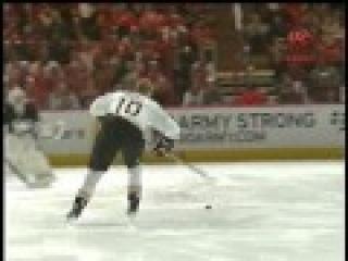 Матч звёзд НХЛ 2011. Конкурс на красоту исполнения буллита. Кори Перри