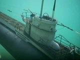 RC U Boot U558 abgetaucht, unterwasser