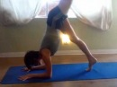 Scorpion Pose for my Tweetlebug!
