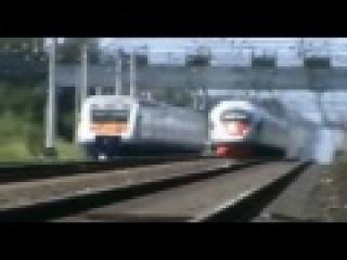 Самые быстрые поезда в России!