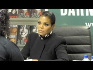 Janet Jackson NY Book Signing on March 19, 2011