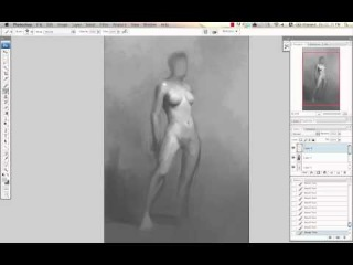 Painting a Female Nude from Memory