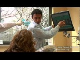NYC endodontist performs a root canal (endodontics) treatment and procedure live. A demonstration