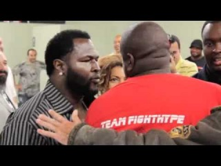 James Toney and Ken Shamrock Nearly Fight at a Press Conference