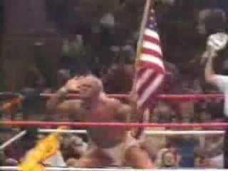 WWE Hulk Hogan entrance video (real american)
