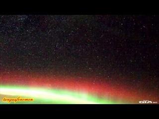 Большие НЛО. Видео сделанное астронавтами 18 сентября 2011 года