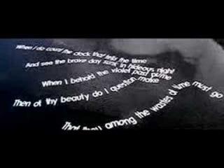 Shakespeare's Sonnet 12