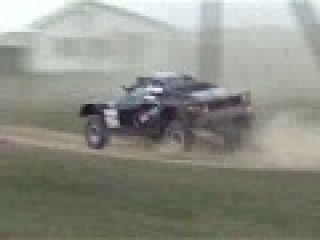 Double Mega Rally Crash - Silk road Rally Narttime Team Russia