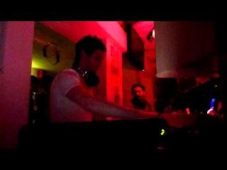 Max Cooper Live Ryan Davis - The Wolve @ Music Club Verona Italy 080111