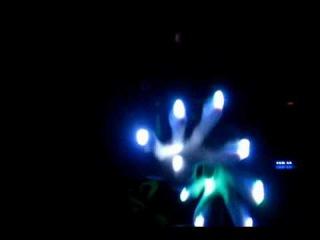 [Team Vivid Sweetface] Bunny Glove Set Light Show [OrbitLightShow.com]