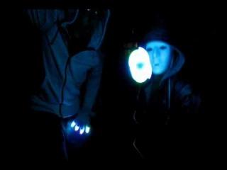[Team Vivid] Monster Massive 2009 Practice Light Show [OrbitLightShow.com]