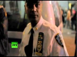 Морпех против полиции на Уолл-стрит: Тут вам не война!