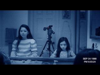 Видео к фильму «Паранормальное явление 3» (2011): Трейлер (русский язык)