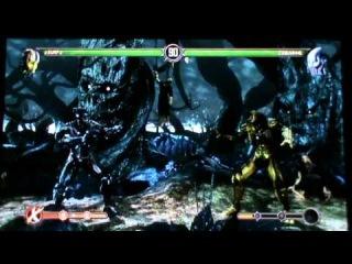 MK9 ONLINE Cyrax Vs Cyber Sub Zero Mortal Kombat 9 XBOX Live