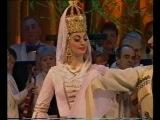 Адыгский ( черкесский )  дворянский танец-Уорк Къафэ