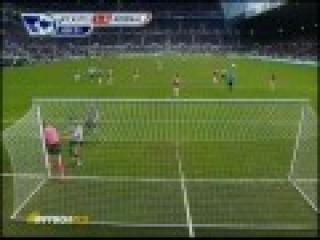 Ньюкасл -- Арсенал 4-4. Все голы.avi