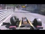 Виталий Петров - Авария В Монако. Формула-1