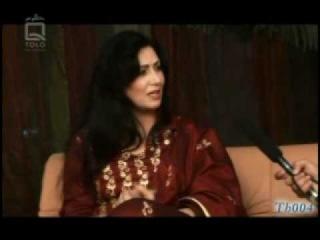 Naghma Interview - Mehmani Yar 1/2مصاحبه دلنشین با خانم نغمه