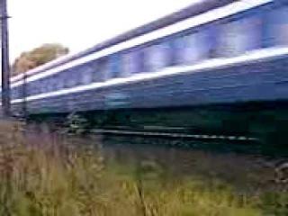 [РЖД] ЧС2Т-1012 с поездом (Москва → Таллин)