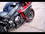 2009 Yamaha YZF R1 Candy Red Raven Yoshimura R-77 3/4 carbon fibrer exhaust