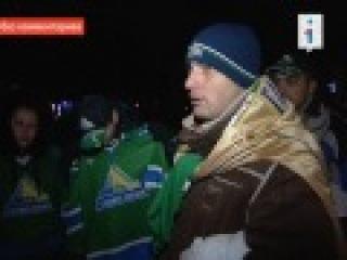 [Видео] Без комментариев. Встреча болельщиков с командой ХК «Салават Юлаев» после игры со «Спартаком» так и не состоялась