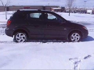 2004 Pontiac Vibe/Matrix, AWD not working, snow or is it?