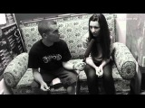 Nifra interview for tranergy.tv @ Technoclub, Frankfurt