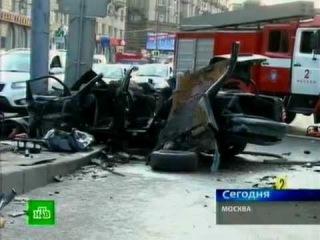 ДТП. На Садовом кольце погибли 5 человек (17.08.2011)