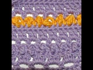 Мастер - класс по вязанию крючком ( узор )