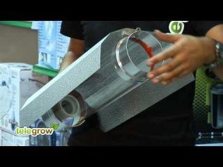 Telegrow - Conectar un Reflector Cooltube para cultivo de interior