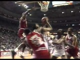 Dennis Rodman (Pistons) highlights vs.Bulls [Game 1-'89 ECF's]