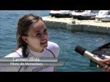 Nico Terol, Hector Barbera y Carmen Jordá prueba la gama Sea-Doo 2011
