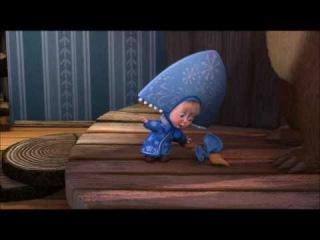 Новогодняя песенка из мультфильма Маша и Медведь