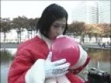 ryuichi plays with helium