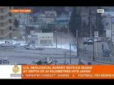 Japan 8.8 earthquake (Aljazeera coverage) - March 11th 2011
