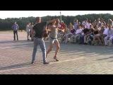 Бачата в Омской крепости 13 августа, хастл-клуб J&M! Они танцуют с завязанными глазами!