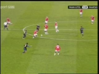 Лига Чемпионов Манчестер Юнайтед (Манчестер) — Марсель (Марсель) 2:1 Обзор матча Все голы