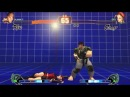 SFIV Resident Evil: Ryu (Chris Redfield costume) vs Cammy (Claire Redfield costume) [PC] HQ