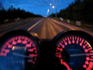 Honda CB 400 RR 4,5 секунды до сотки,при 400 кубах!
