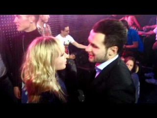 Discoteque New Year Party 31/12/2011 - Deux + Sheila Cuffy - новогодняя тусовка на сцене )))