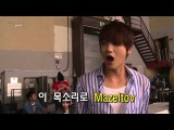 ZE:A - Hyungshik Singing Mazeltov And Watch Out In Helium voice
